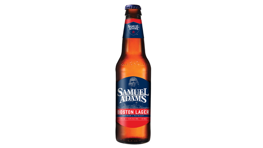 2) Sam Adams Boston Lager