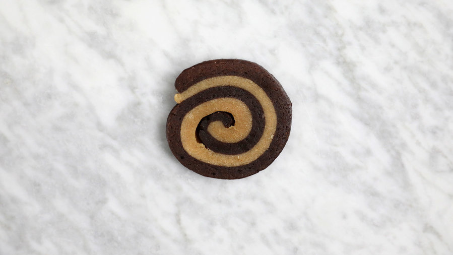 Peanut Butter Chocolate Swirl Cookie