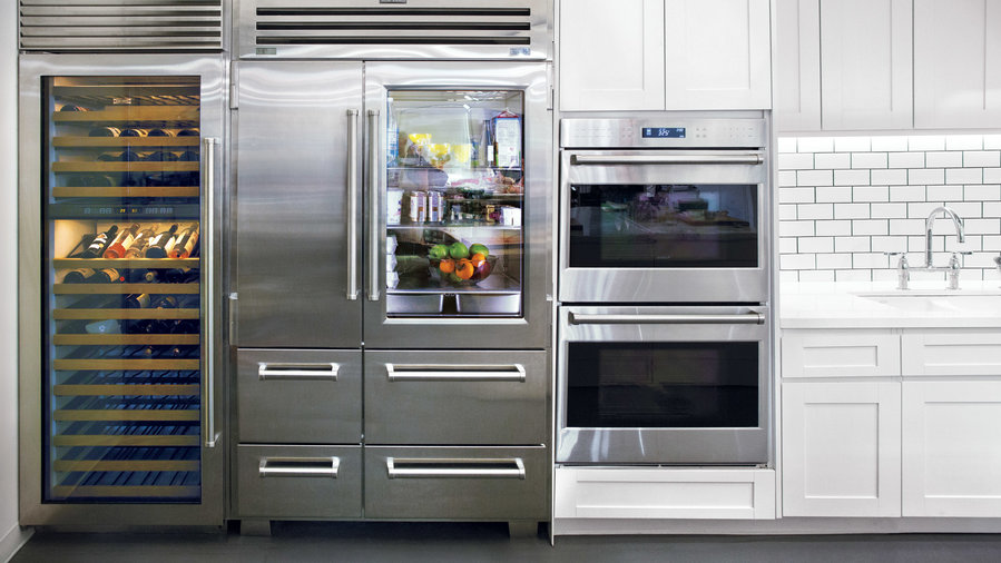 Food & Wine Test Kitchen Refrigerator