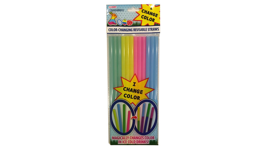 Color-Changing Straws