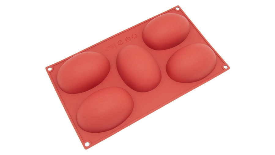Egg-Shaped Silicone Mold