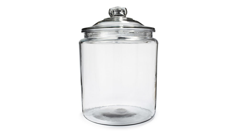 <p>Anchor Hocking Glass Heritage Jars</p>