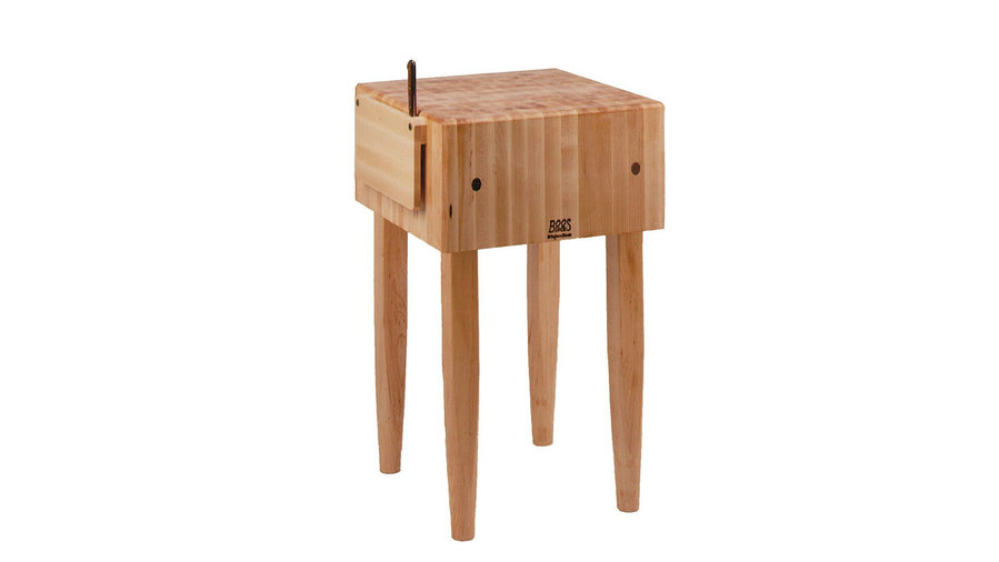 John Boos Maple Wood End Grain Solid Butcher Block