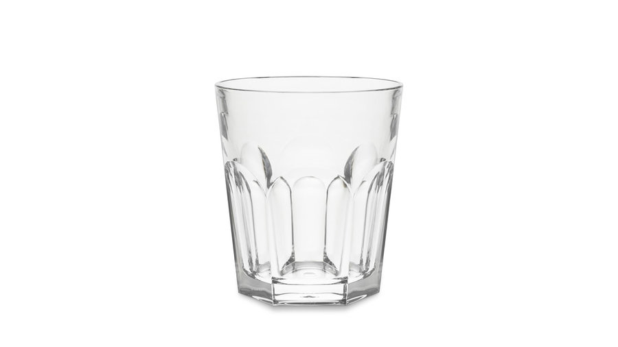 DuraClear Faceted Short Tumblers