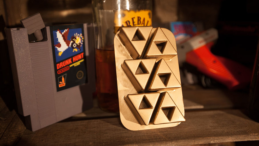 triforce ice cub tray