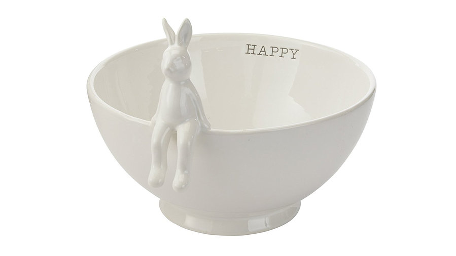 <p><b>Ceramic Easter Bunny Serving Bowl</b></p>