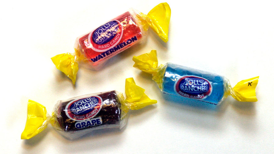 grape jolly ranchers