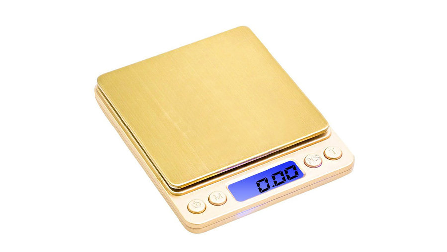 Gold Kitchen Scale