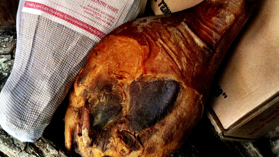 Benton's Whole Hickory Country Ham Deboned & Sliced