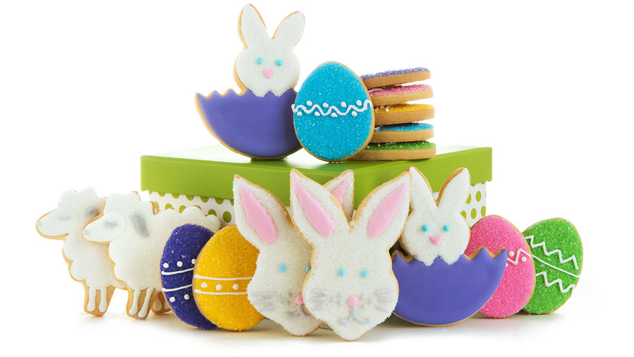 The best easter foods to order online food wine amys cookies easter bunny cookies gift box negle Images
