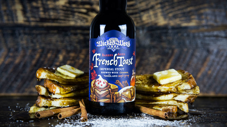 Barrel Aged French Toast Imperial Stout (Wicked Weed)