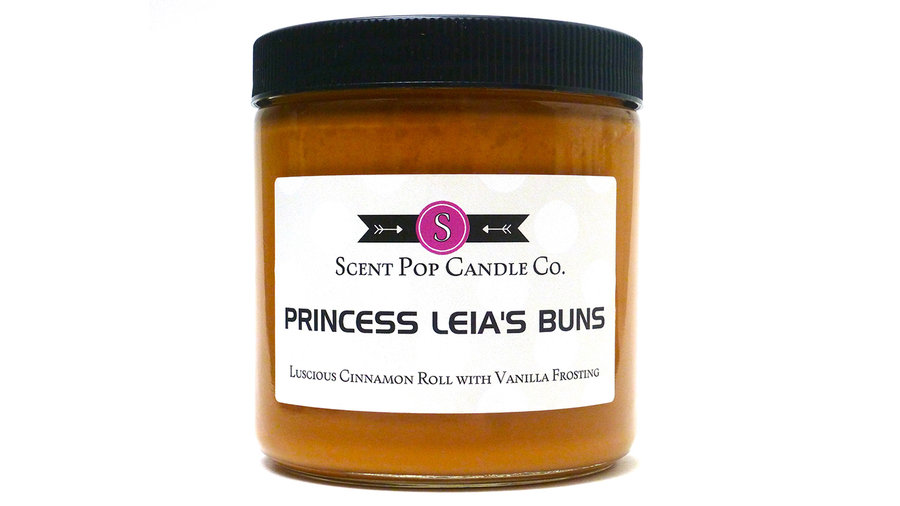 Princess Leia's Buns Candle