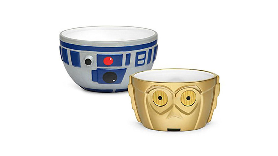 R2-D2 and C-3PO Ceramic Bowl Set
