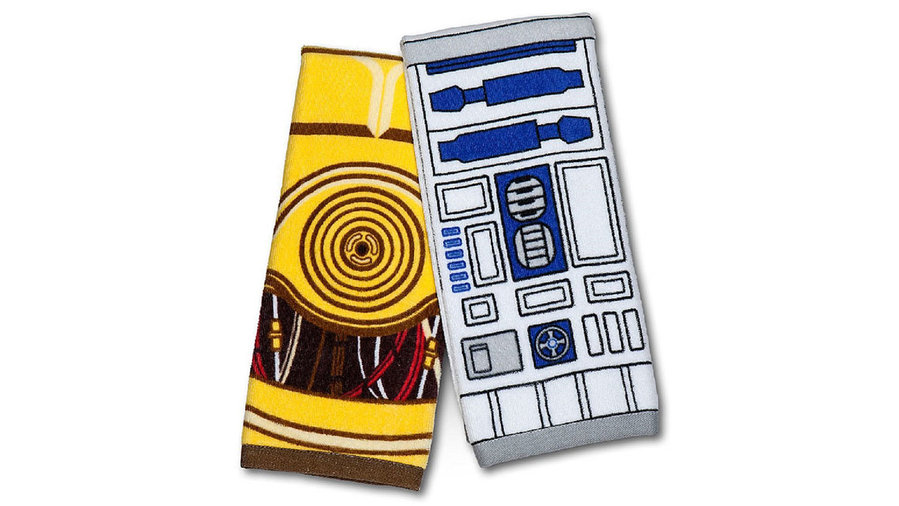 R2-D2 and C-3PO Hand Towel Set