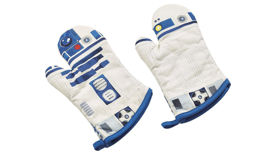 R2-D2 Oven Mitts