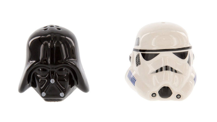 Darth Vader and Storm Trooper Salt & Pepper Shakers