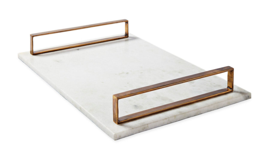 Serena & Lily Marble Serving Trays