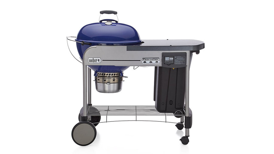 Weber Blue Performer Deluxe Charcoal Grill