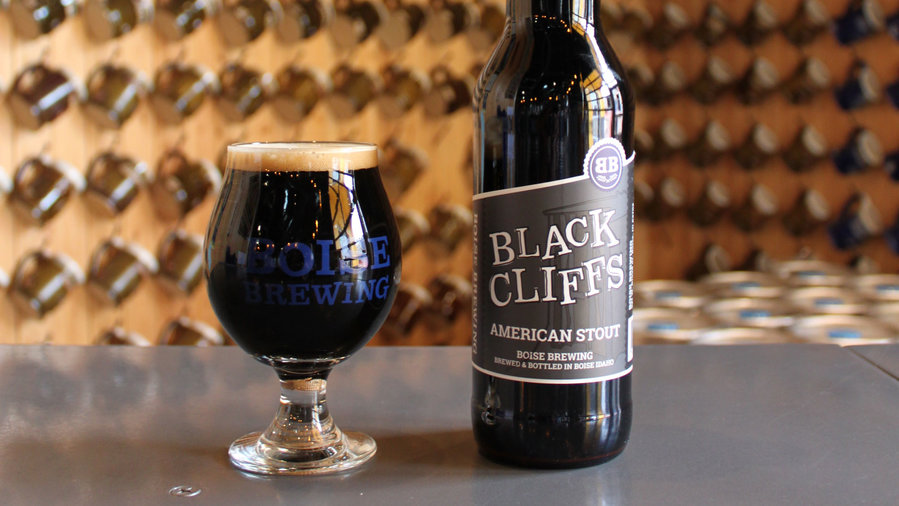 Boise Brewing Black Cliffs Stout