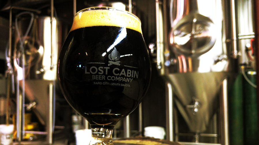 Lost Cabin Smokewagon Coffee Stout