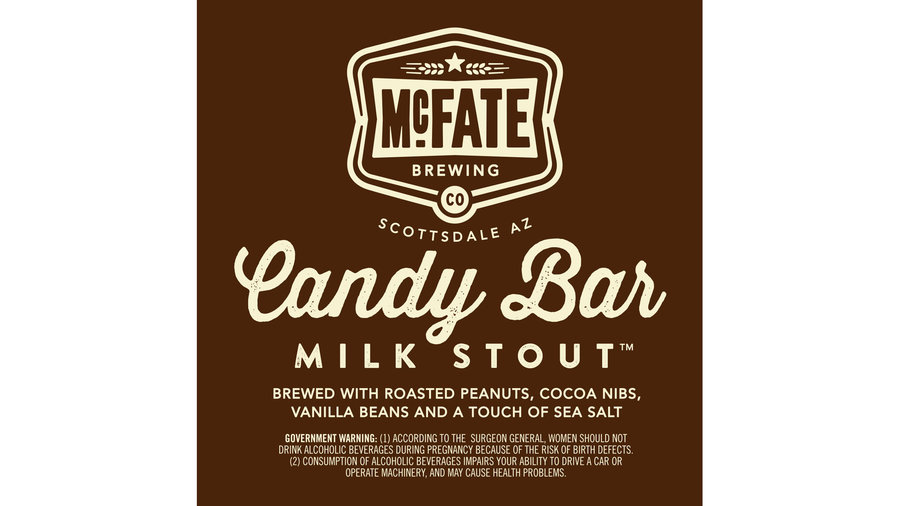 McFate Candy Bar Milk Stout
