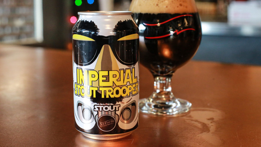New England Imperial Stout Trooper Beer