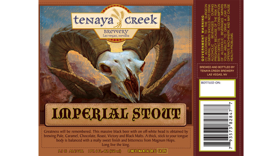 Tenaya Creek Imperial Stout