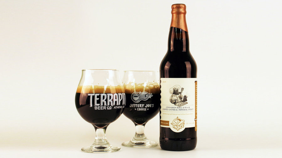Terrapin Cinnamon Roll'd Wake-n-Bake Oatmeal Stout Beer