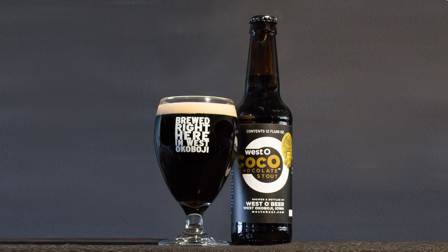 West O CoCo Stout Beer