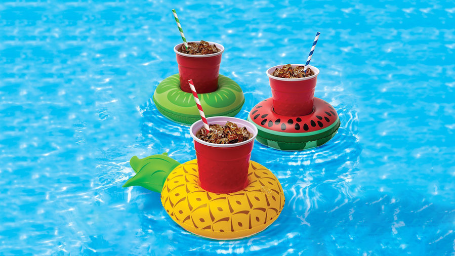Fruit Drink Floats