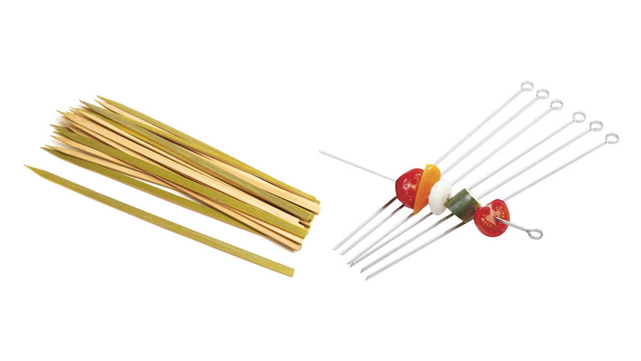 Skewers and Heavy Duty Aluminum Foil