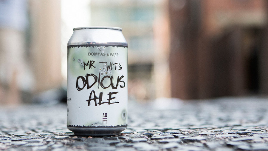 Odius Ale by 40FT Brewery