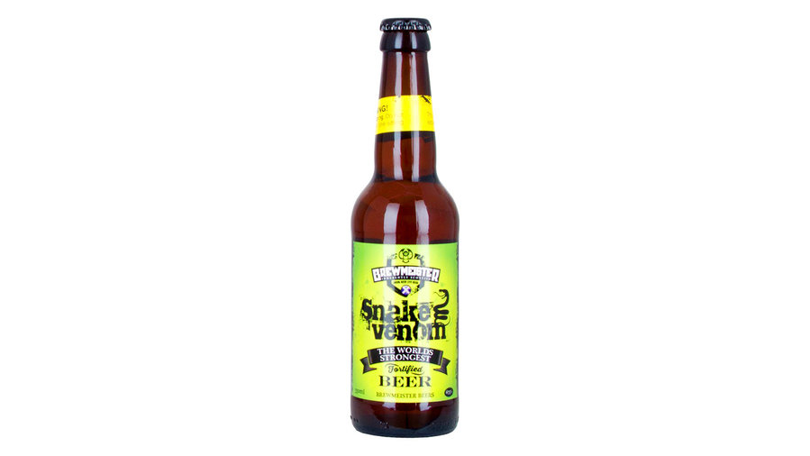 beer made of snake venom