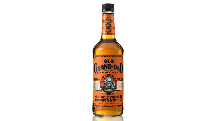 Old Grand-Dad bonded and 114 Bourbon