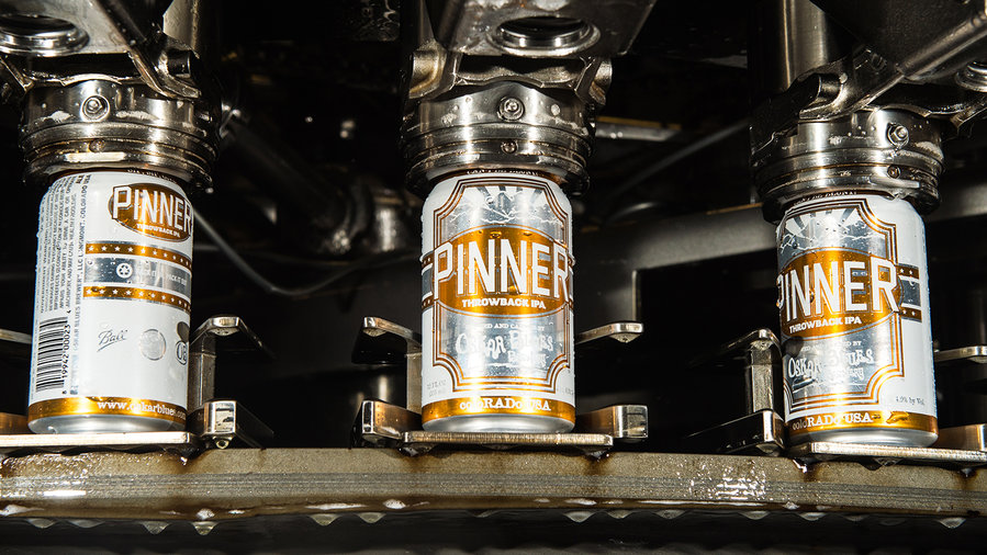 Pinner Throwback IPA by Oskar Blues
