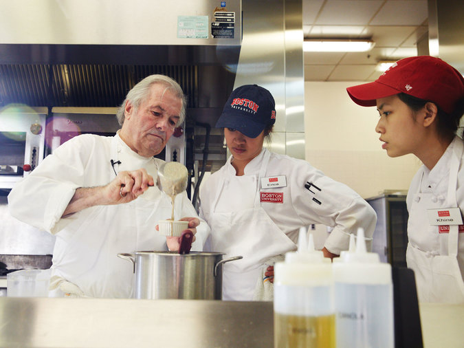 Get your masters degree in gastronomy at Boston University