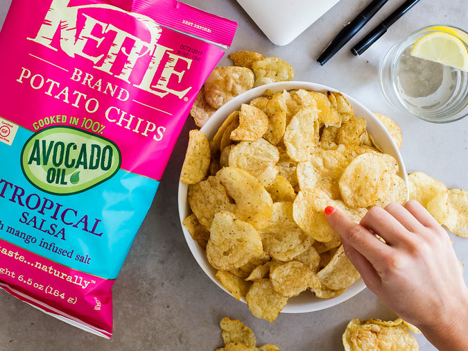 Kettle Krinkle Cut Chips Avocado Salsa Part 52