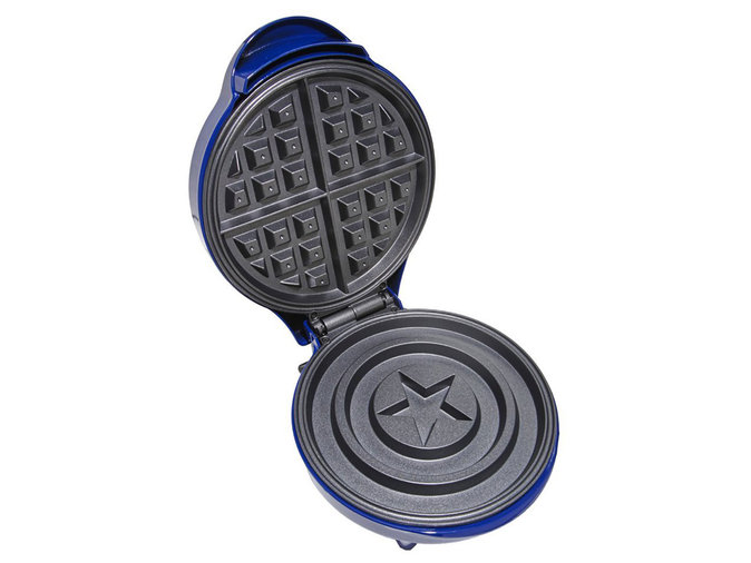 The Hot Topic Marvel Captain America Shield Waffle Maker
