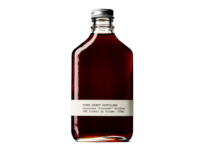 Chocolate Flavored Whiskey by Kings County Distillery