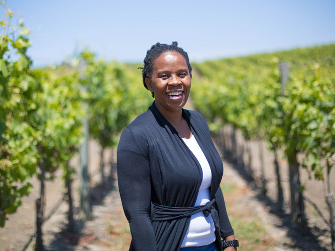 8. Ntsiki Biyela, Winemaker and Owner of Aslina Wines