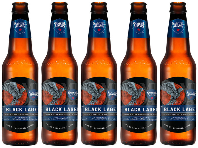 black lager sam adams