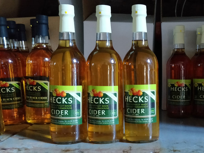 Hecks Dry Farmhouse Cider