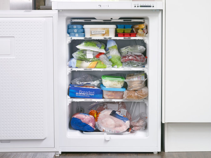 Clean out your freezer