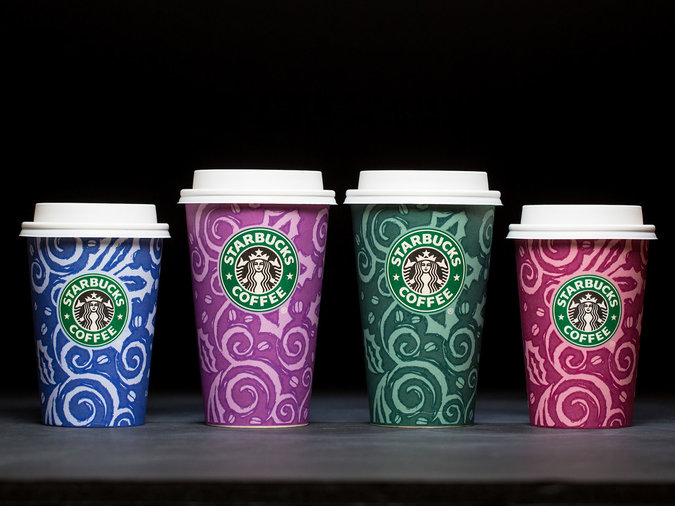 starbucks first holiday cups