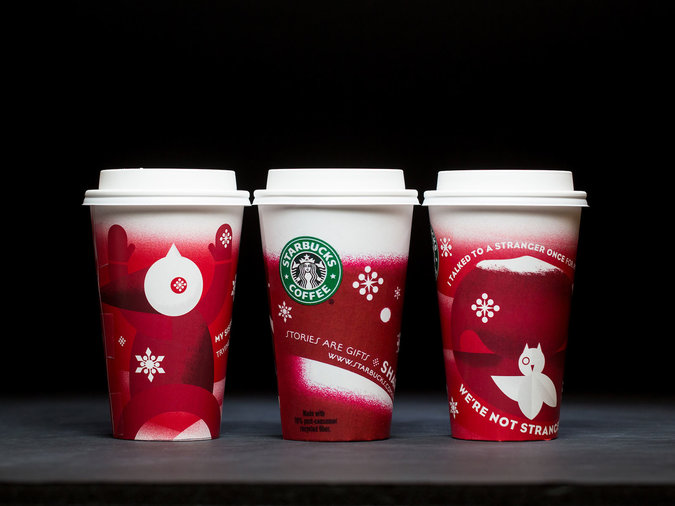 group design for holiday cups