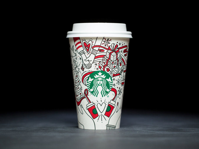 the newest starbucks holiday cups