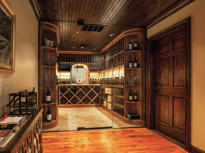 custom wine cellar from home