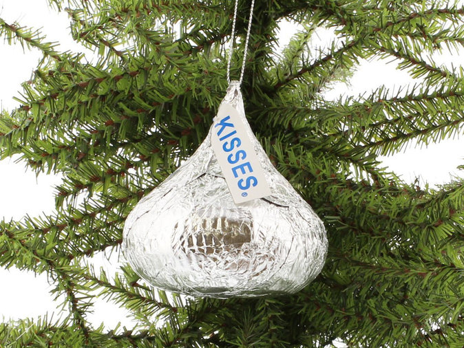 hershey kisses ornament