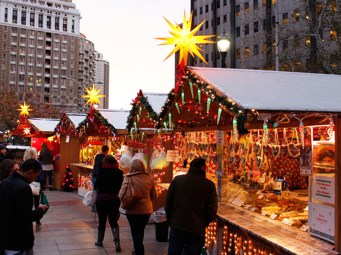 Okc Christmas Events.The Best Holiday Markets In Every State Food Wine