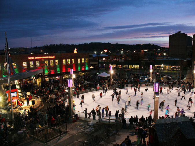 south dakota markets and ice skating